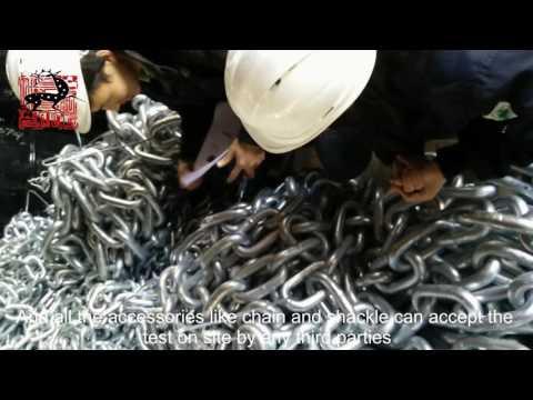 Marine Rubber Fender Accessories Testing By Deers