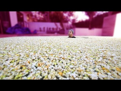 Thumbnail: 1 MILLION PIECES OF POPCORN IN POOL