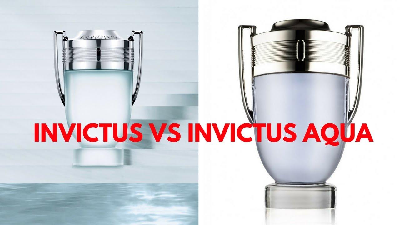 Invictus Vs Invictus Aqua Fragrance Battle Which One Is The Best