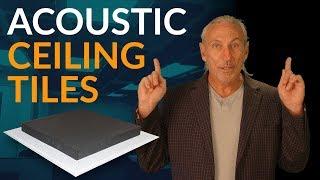 Acoustic Ceiling Tiles - www.AcousticFields.com