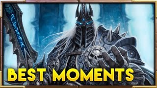 THE BEST Knights of the Frozen Throne Moments ep.102 | Hearthstone