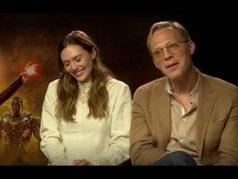 Elizabeth Olsen and Paul Bettany discuss Robert Downey Jr's