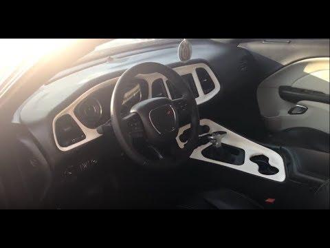 Custom Challenger Interior