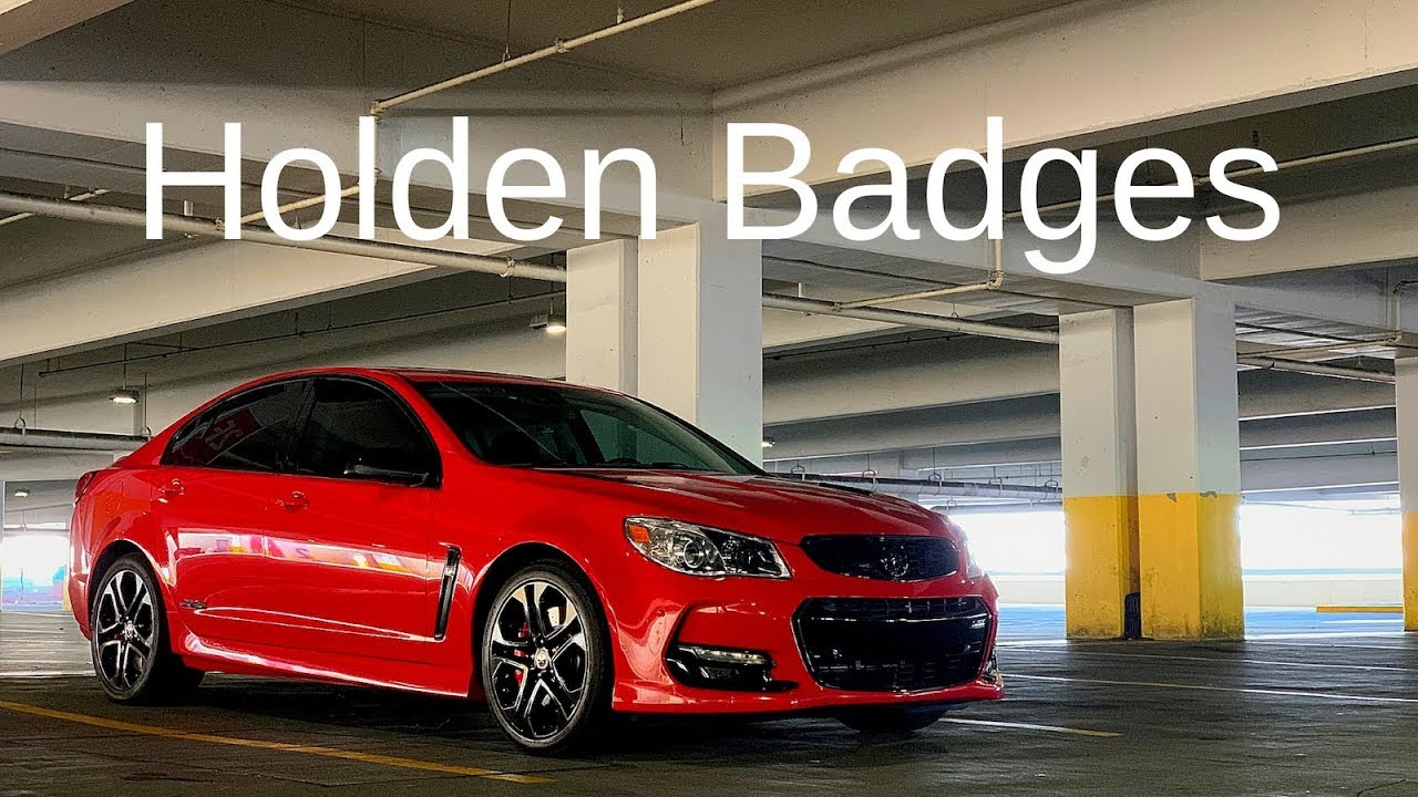 Holden Badges for Chevy SS