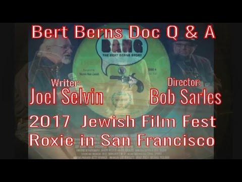 BANG: Bert Berns Doc Q&A with writer Joel Selvin & director Bob Sarles at Roxie SF