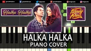 Halka Halka Song FANNEY KHAN | Piano Cover Chords Instrumental By Ganesh Kini