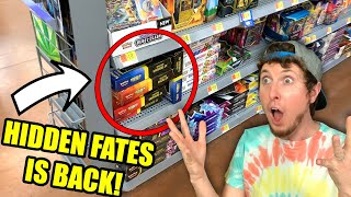 THEY ARE BACK! I Found Boxes of Hidden Fates Pokemon Cards Restocked At Walmart! (opening)