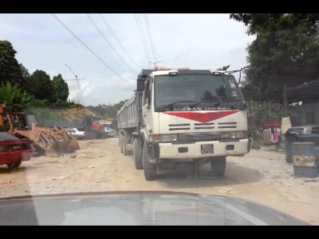 12 wheels lorry part 3 Travel Video