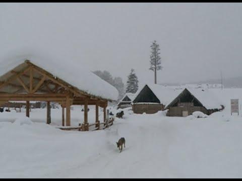 Heavy Snowfall Continues In Altay, NW China's Xinjiang
