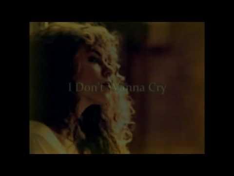 Credit by Mari Angels - Karaoke for male I don't wanna cry - Mariah Carey