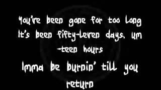 Usher - burn (lyrics)