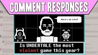 Comment Responses: Is Undertale The Most Violent Game This Year? | PBS Digital Studios