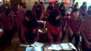 Tepuk semangat SMP N 21 MALANG kelas 7.3