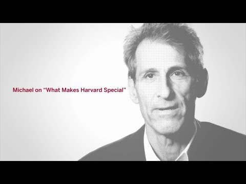 Michael Lynton '82, MBA '87: What Makes Harvard Special
