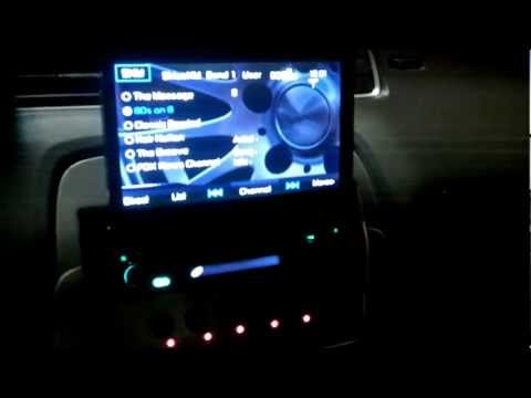 Jensen VM9215BT Stereo Installed In 2011 Camaro SS