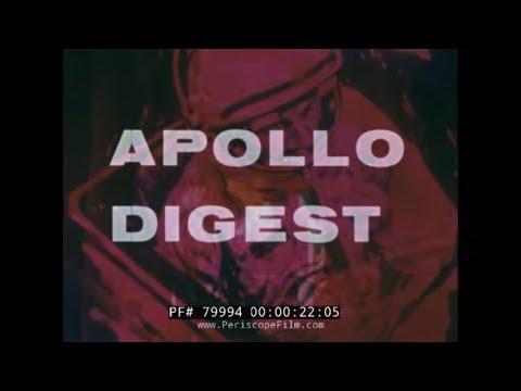 APOLLO PROGRAM ASTRONAUT TRAINING 1968  LUNAR MISSION 79994