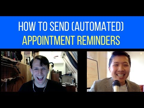 How to Send (Automated) Appointment Reminders Through Facebook Messenger  Chat Bot