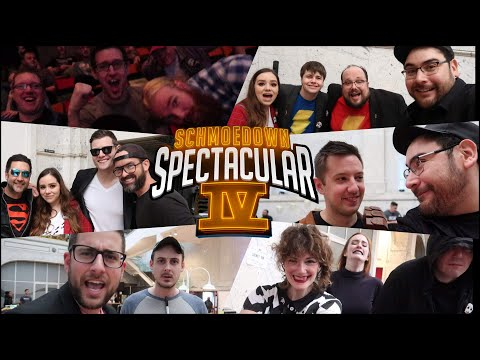 Schmoedown Spectacular 4 VLOG - Fan Expo, Match Reactions, And Player Interviews