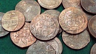 Реставрация окисленных подуставших  монет. Выпуск-1