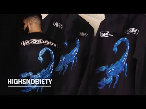The Artist Behind Drake's Embroidered 'Scorpion' Merch | Meet Matthew Burgess