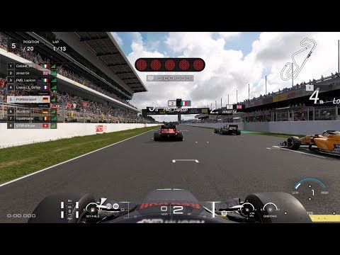 Gran Turismo™SPORT Daily Race 1174 Barcelona Dallara SF19 Super Formula / Honda Onboard