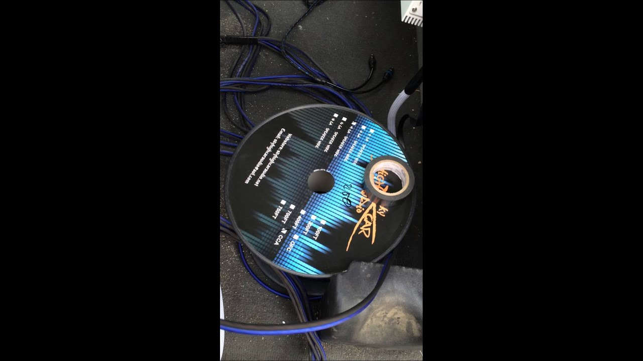 07 Ford F-150 change out rcas and run speaker wire - YouTube
