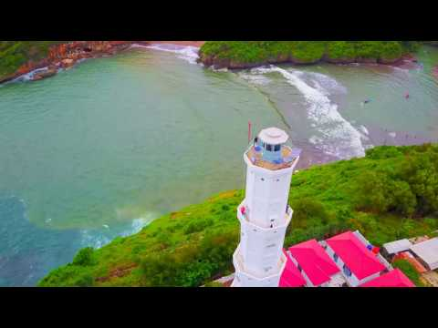 Indonesian Holiday Yogyakarta Wisata & Beach 2016 Aerial Footage #01