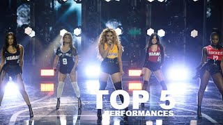 TOP 5: Fifth Harmony performances