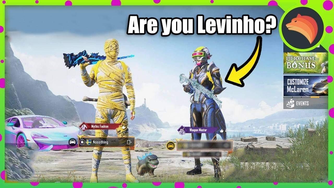 Am I Levinho? | PUBG MOBILE