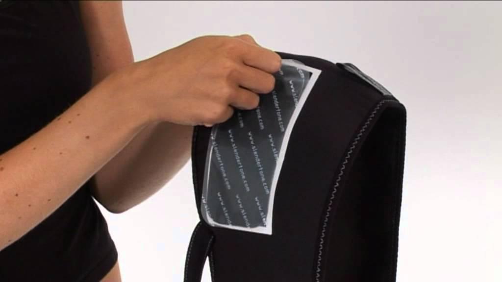 Slendertone Bottom Toner Product Setup Youtube
