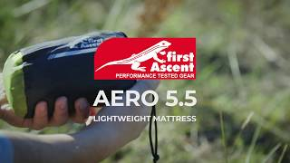 First Ascent Aero 5.5 Lightweight Hiking Mattress
