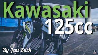 Kawasaki Z125   Naked Bike 2019 mit Jens Kuck