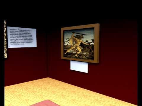"""Virtuelle Museumsführung - """"Haupt der Medusa"""" - Peter Paul Rubens"""