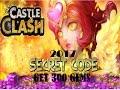 Castle clash Secret Code  2018