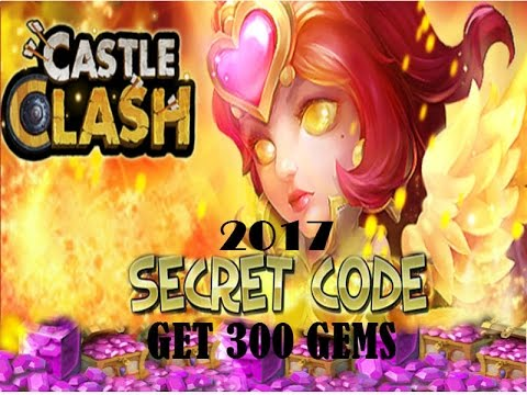 Castle Clash Secret Code  2018