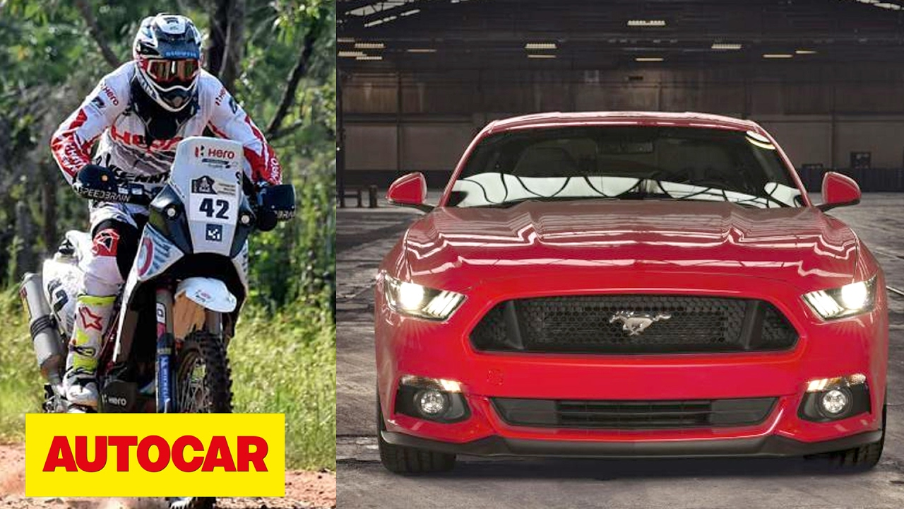 Ford mustang gt india drive the 2017 dakar experience autocar ep 59