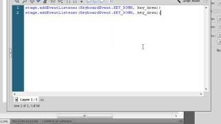 ActionScript 3. Урок flash 1: Отслеживаем события клавиатуры. (Виталий Кузьменко и Андрей Муха)