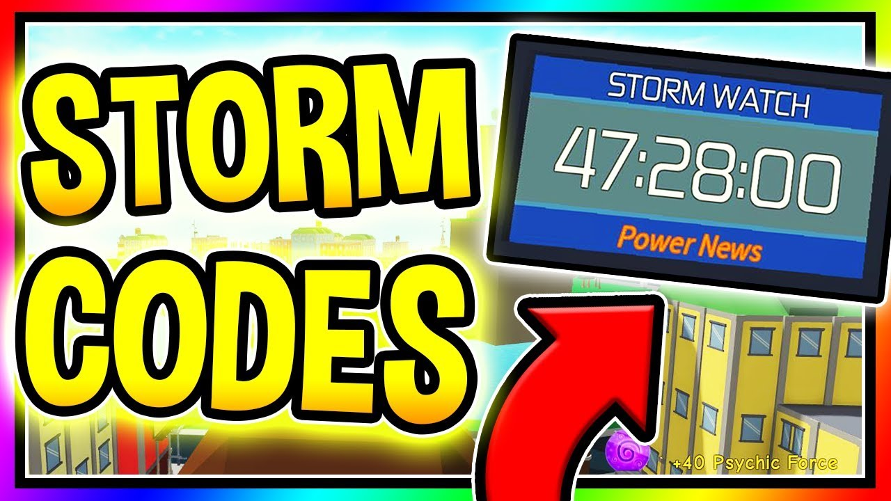 ALL NEW POWER SIMULATOR CODES - New STORM Update/ Roblox