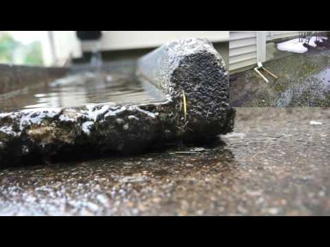 Duct flooded: Ducts under slab problems flooded rusted mold