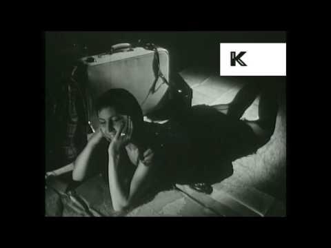 1950s Avant Garde Art Film, European, Woman, Net, Eye