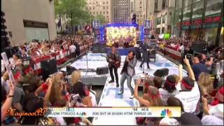 "[HD] JOurney / Arnel Pineda ""Faithfully"" @ NBC Today Show = 7/29/11"