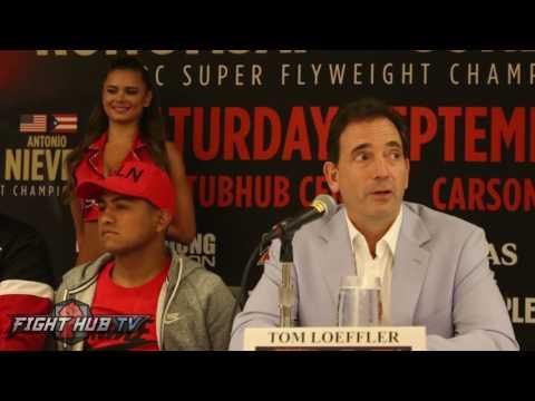 The Full Roman CHOCOLATITO Gonzalez vs Sor Rungvisai 2 Press Conference