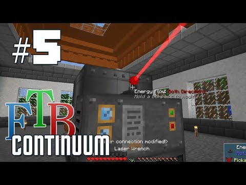 FTB Continuum #2 - New Base and Side Quests - YouTube