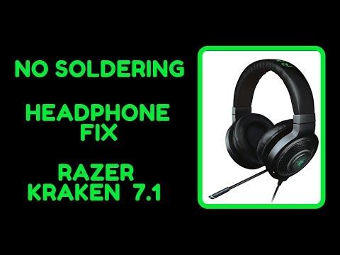 Easy Headphones Fix | Razer Kraken 7.1 | No Soldering