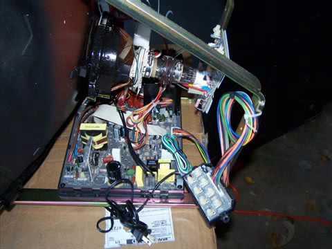 arcade machine restoration