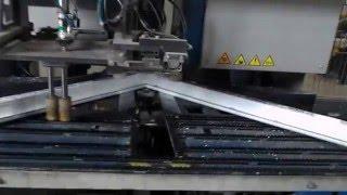 Сварка пластиковых окон на комплексе STURTZ(Сварка + зачиска углов на производстве пластиковых окон GROS. Размеры будущего окна подаются на четырёхголов..., 2016-03-26T13:33:32.000Z)