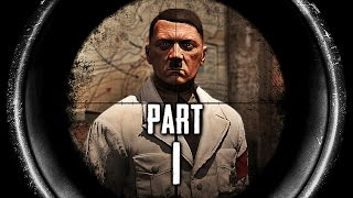 Sniper Elite 3 Hunt the Grey Wolf Gameplay Walkthrough Part 1 - Hitler (PS4)