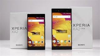 Unboxing: Sony Xperia XA2 & XA2 Ultra (Deutsch) - Mittelklasse mit altem Design?   SwagTab