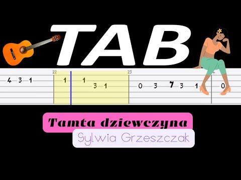🎸 Tamta dziewczyna (Sylwia Grzeszczak) - melodia TAB (gitara) 🎸