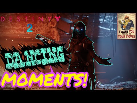Destiny 2 DANCING MOMENTS!!! {Blue,Gente,Robot}